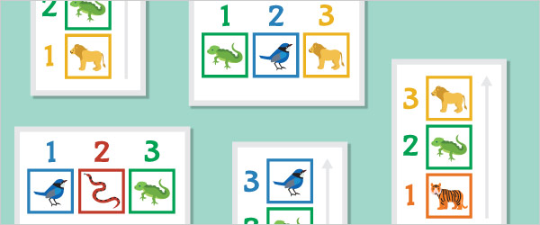 Animal Colour Sequencing Game