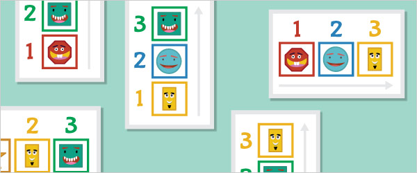 2D Shapes Sequencing Game