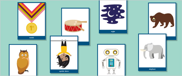 Initial Sound Flash Cards